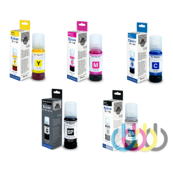 Комплект чернил Revcol для EPSON L7160, L7180, KEY LOCK