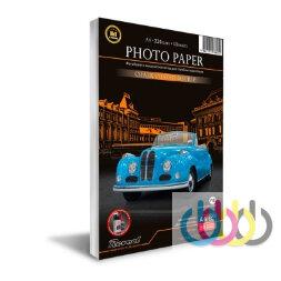 Фотобумага, мелованная, глянцевая, двухсторонняя, A4, 220г/м2, 50 л., Revcol