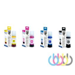 Комплект чернил Revcol 103 для EPSON L1110, L3100, L3101, L3110, L3150, L3151, L3156, L3160, KEY LOCK