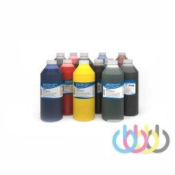 Комплект пигментных чернил IIMAK 199 6 цветов для HP DesignJet Z5400, Z6600 и других шестицветных плоттеров 1000г х 6