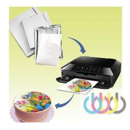 Все о съедобной печати на торт: подготовка макета, выбор бумаги, правила хранения, особенности наложения на торт