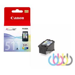 Картридж Canon CL-511, Pixma iP2700, iP2702, MP240, MP250, MP252, MP260, MP270, MP272, MP280, MP282, MP480, MP490, MP492, MP495