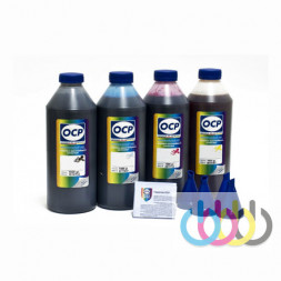 Комплект чернил OCP (BKP 115, C 142, M/Y 140) для принтеров EPSON Expression Home XP-33, XP-103, XP-203, XP-207, XP-303, XP-306, XP-313, XP-403, XP-406, XP-413, 1000г х 4