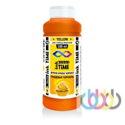 Пищевые чернила Ink Time Yellow 100 ml