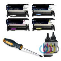 Заправка картриджа HP W2070a, W2071a, W2072a, W2073a, 117A