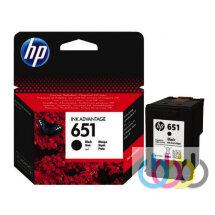 Картридж HP 651 Black, HP DeskJet Ink Advantage 5575, HP DeskJet Ink Advantage 5645, HP OfficeJet 252, HP OfficeJet 202, C2P10AE