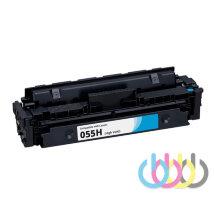 Совместимый картридж Canon 055H cyan, i-SENSYS MF742Cdw, i-SENSYS MF744Cdw, i-SENSYS MF746Cx, LBP664Cx, LBP663Cdw